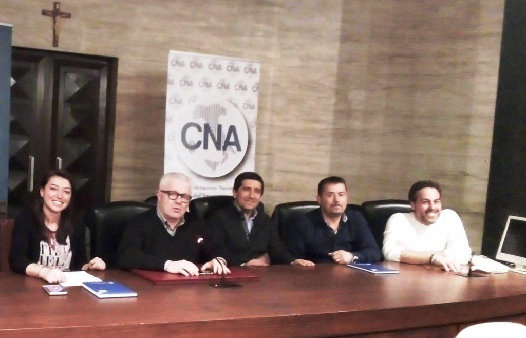 conferenza stampa su edilizia per la ricostruzione