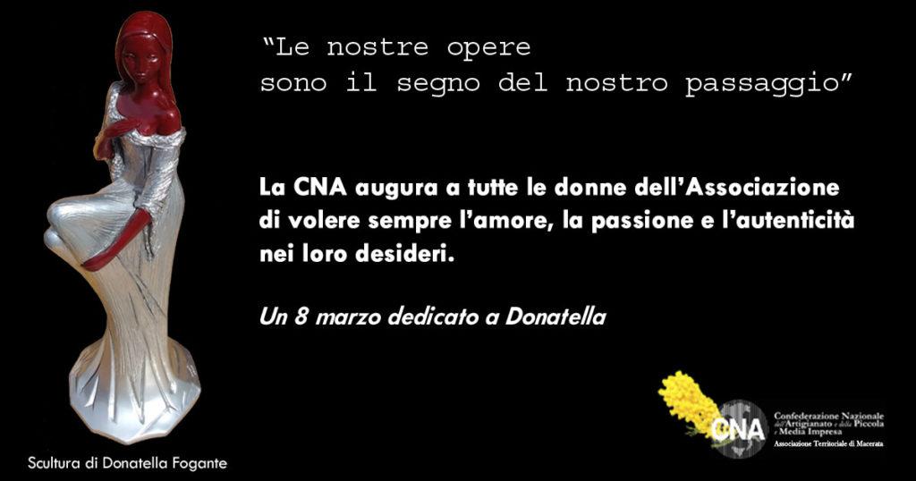 8 marzo dedicato a Donatella Fogante