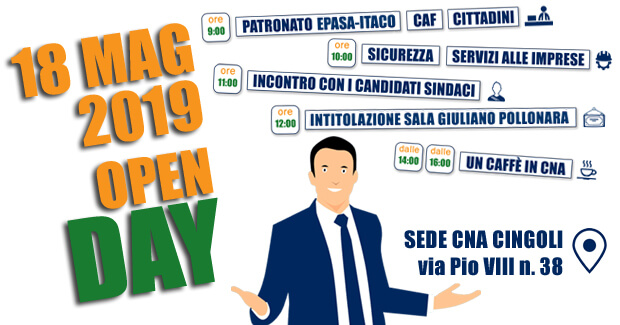 open day alla CNA di Cingoli