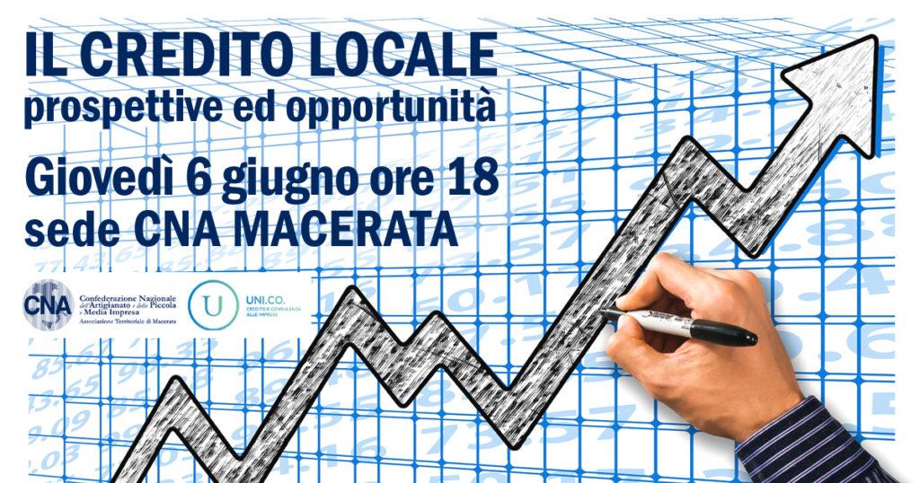 iniziativa CNA sul credito locale