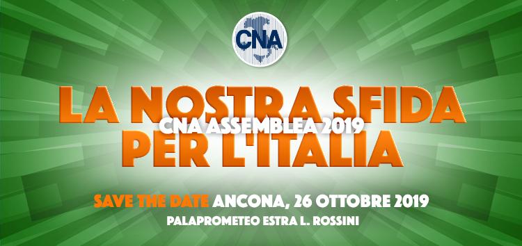 save the date dell'assemblea annuale CNA