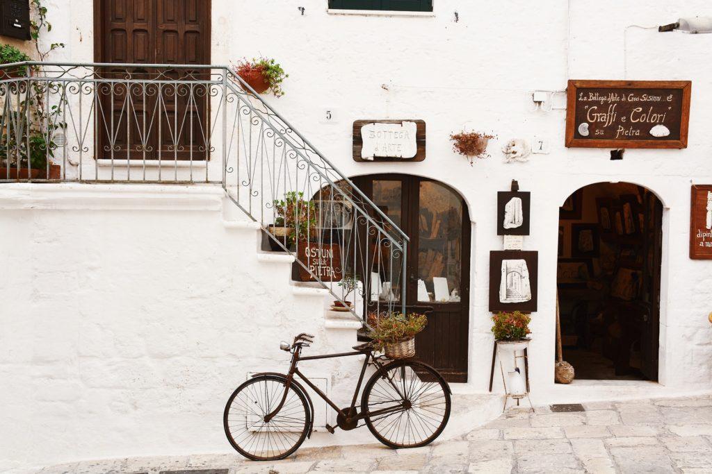 bici turismo cultura e artigianato