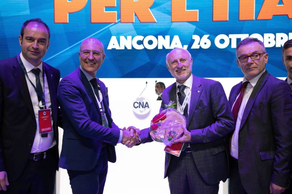 i Presidenti CNA Vaccarino e Ligliani