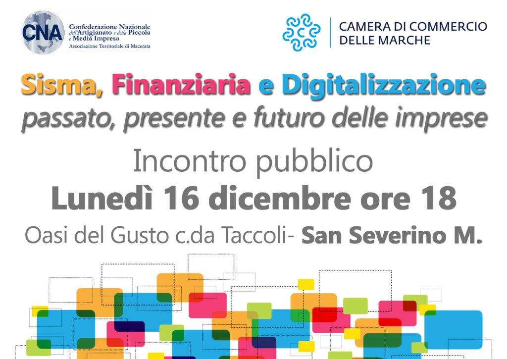 sisma finanziaria e digitalizzazione