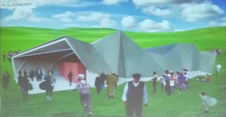 il progetto della nuova struttura