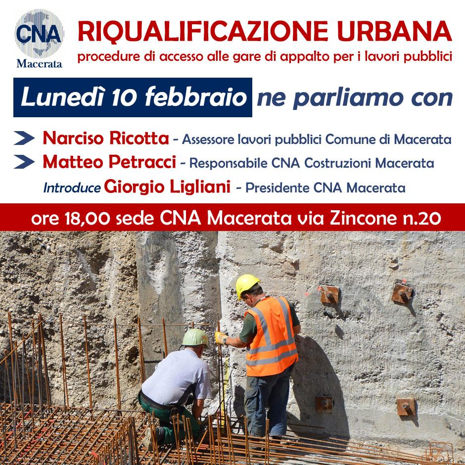 riqualificazione urbana a Macerata