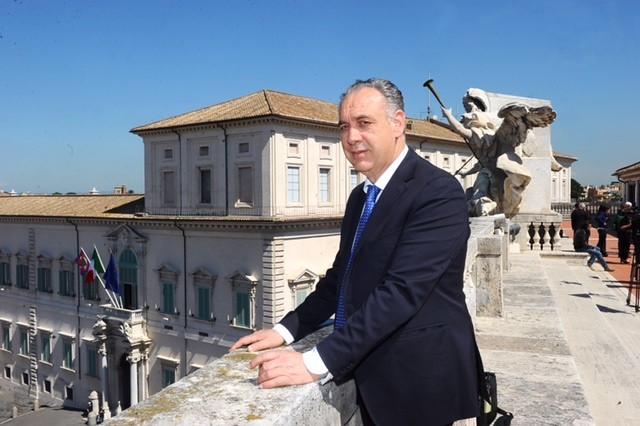 Il Commissario per la ricostruzione Giovanni Legnini