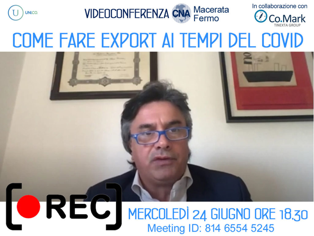 registrazione zoom cna come_fare_export 24_6_20