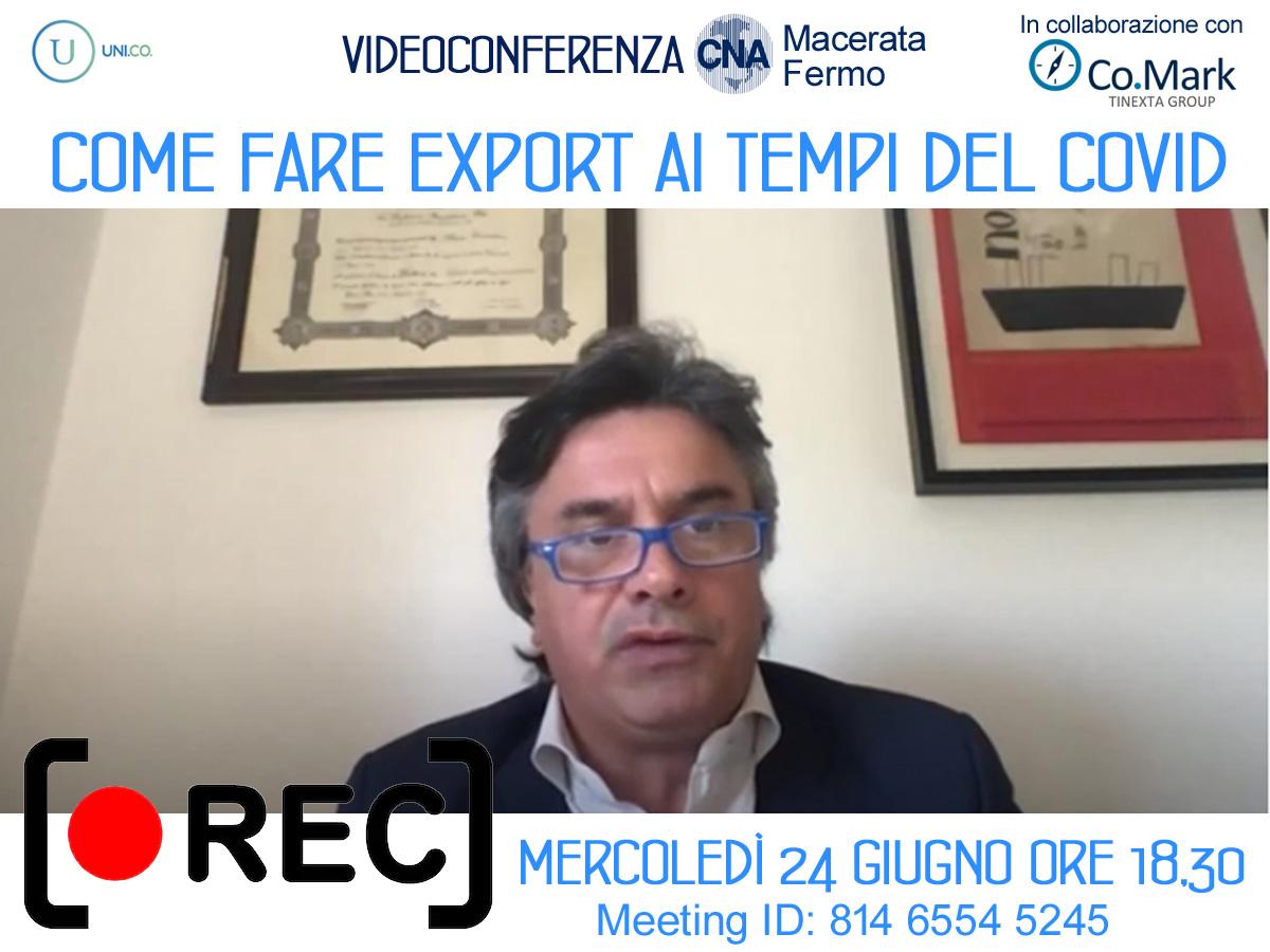 registrazione zoom cna come_fare_export 24_6_20