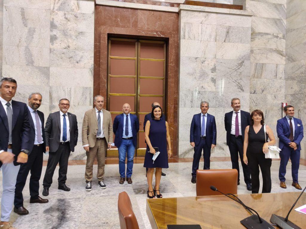 foto della delegazione maceratese