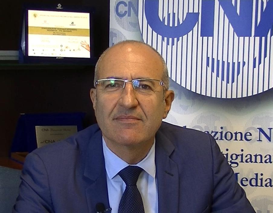 Il Presidente CNA Macerata Giorgio Ligliani