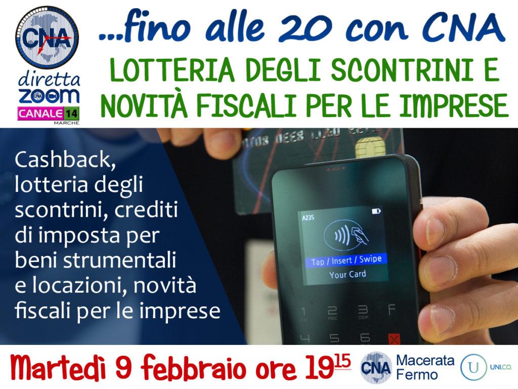 zoom cna lotteria degli scontrini 9_2_21