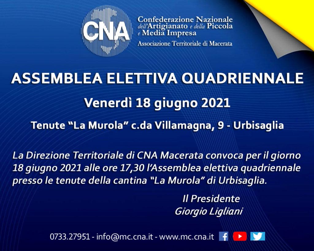 Convocazione Assemblea elettiva CNA Macerata