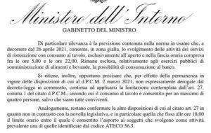 Il chiarimento del Ministero dell'Interno