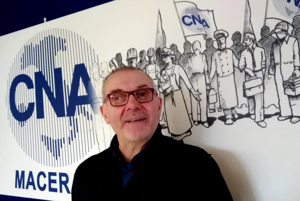 Luciano Ramadori direttore CNA Macerata