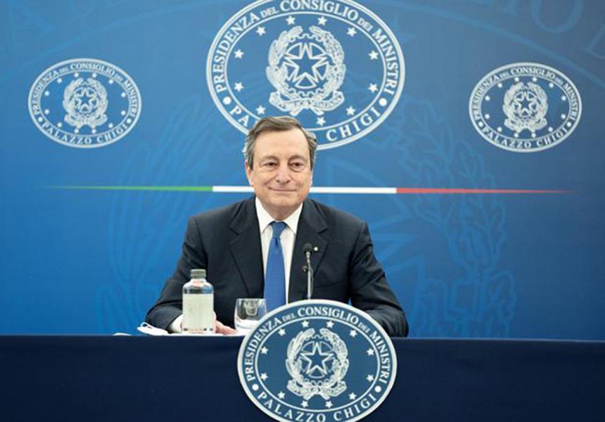 Presidente del Consiglio Draghi