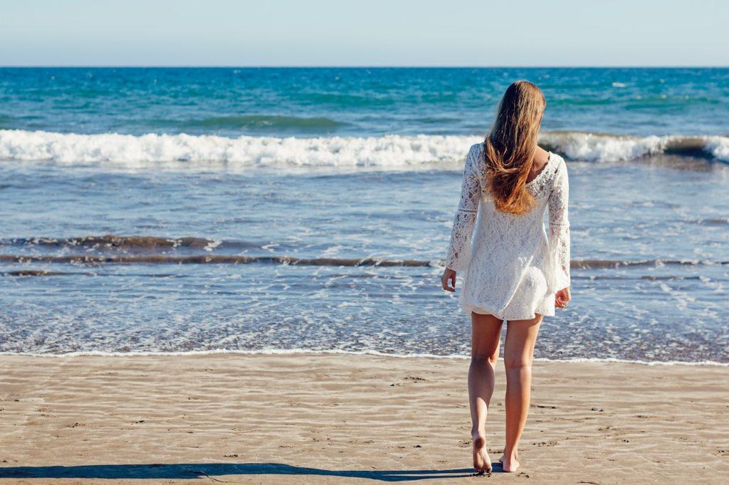 il giusto make up in spiaggia
